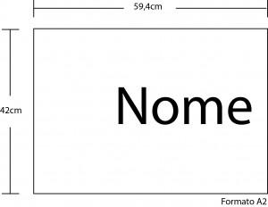 Exemplo para o cartaz A2