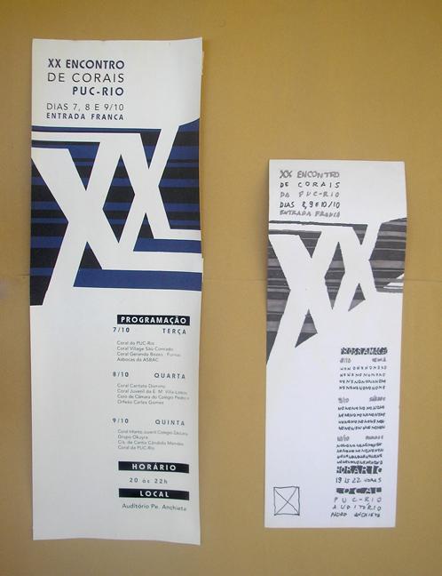 Layout final: cartaz à esquerda, estudo à direita