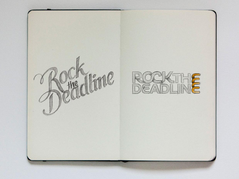 Jackson Alves - sketch Rock