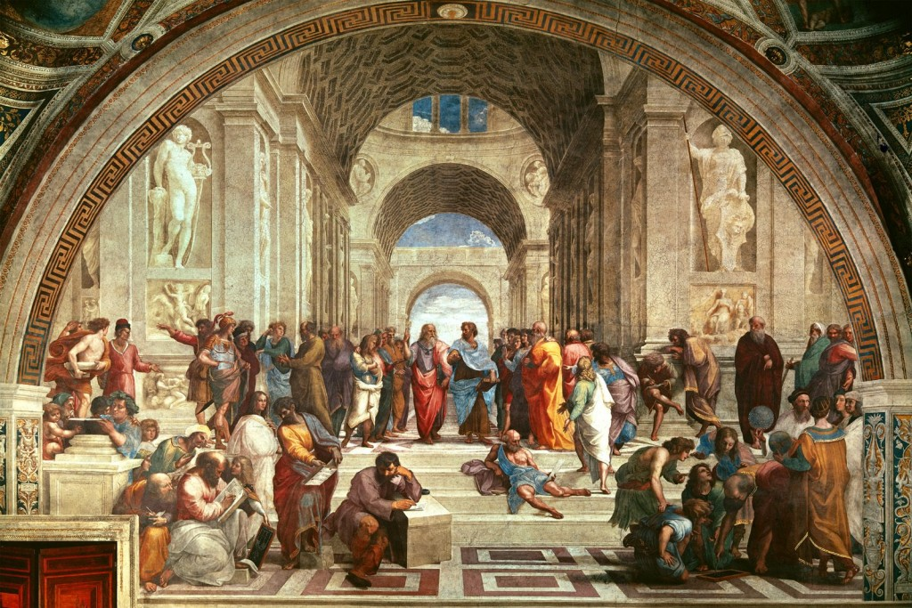 A Escola de Atenas - Rafael S