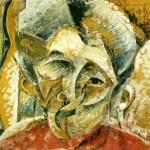 Boccioni - Dinamismo d'una testa di donna -  1914
